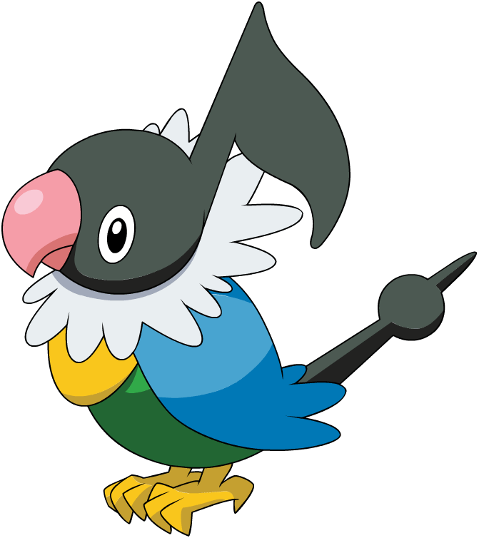 Chatot Pok 233 Mon Wiki Fandom Powered By Wikia