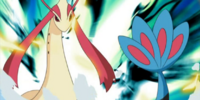 Lucy's Milotic (anime)