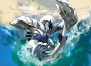Lugia HeartGold SoulSilver TCG artwork