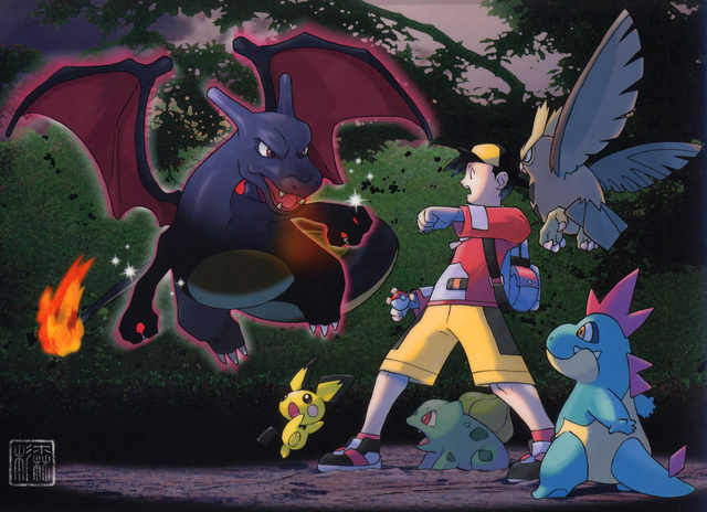 File:Ethan encounters a Shiny Charizard.PNG