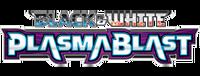 Black & White Plasma Blast logo