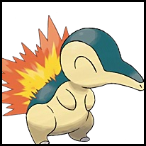 Generation II Button - Cyndaquil