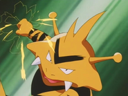Head of Security Electabuzz Thunder Punch