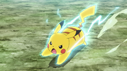 Ash Pikachu Quick Attack