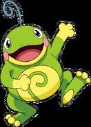 186Politoed OS anime 2