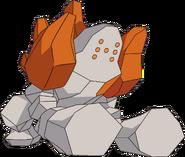 377Regirock AG anime 2