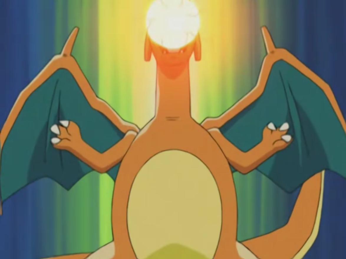 image ash charizard dragon rage png pokémon wiki fandom