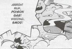 Koga's Weezing Smog