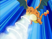 Ash Charizard Dragon Breath