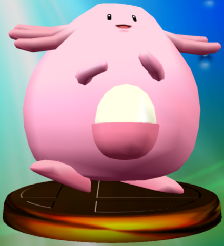 File:Chansey trophy SSBM.png