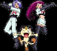 Team Rocket trio OS