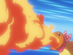 Team Go-Getters Charmander Flamethrower