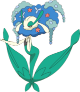 671Florges Blue Flower XY anime