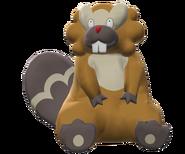 400Bibarel Pokemon Battle Revolution
