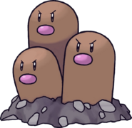 051Dugtrio Pokemon Mystery Dungeon Red and Blue Rescue Teams