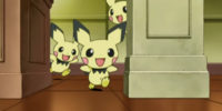 Mr. Backlot's Pichu (anime)