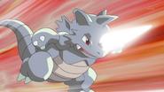 Team Rocket Grunt Rhydon Megahorn