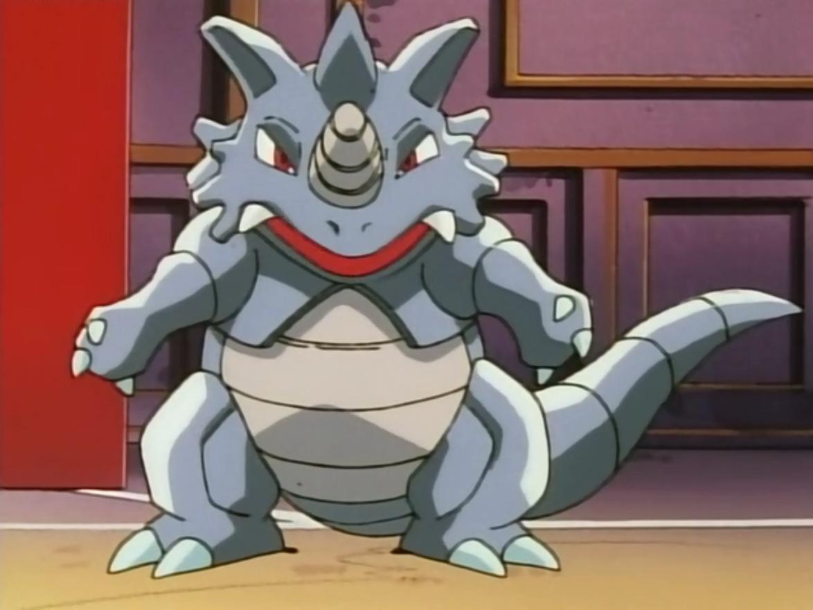 Giovanni Rhydon anime