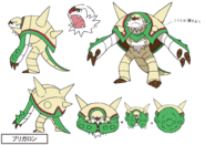 Chesnaught concept art