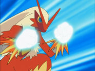 May Blaziken Sky Uppercut