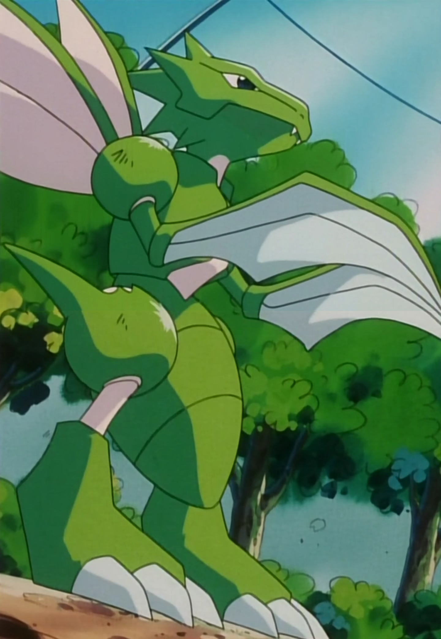 Bugsy Scyther anime