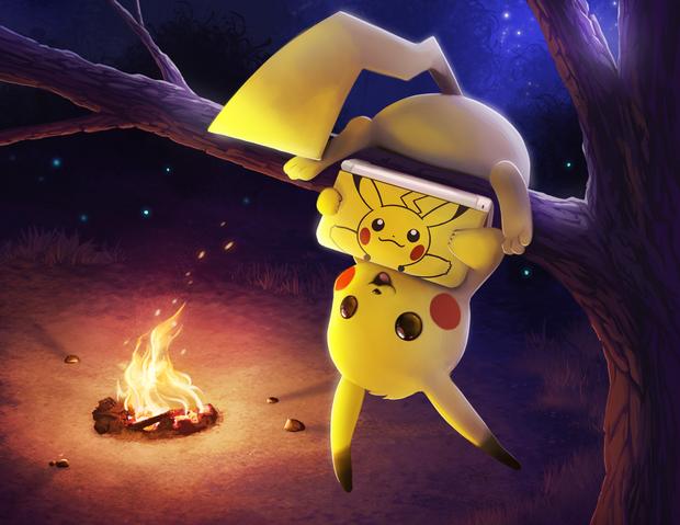 File:Pikachu 3ds commission by tsaoshin-d6bdd8n.png