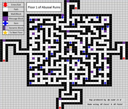 Abysal Ruins Floor 1