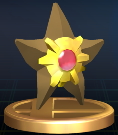 File:Staryu trophy SSBB.png