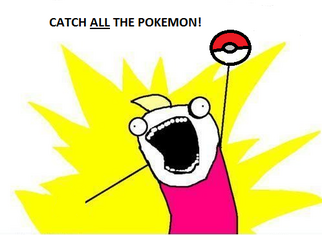 Catch all the pokemon