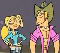 Bridgette e Geoff..