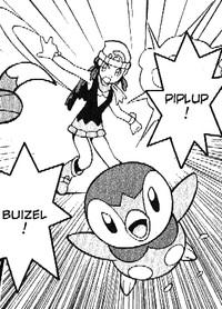 Dawn Piplup M10 manga