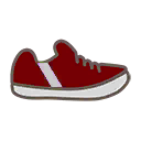 Shoes M Red Stripe