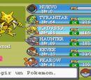 Equipo Pokémon