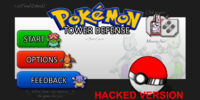 Hacked Pokemon Tower Defense