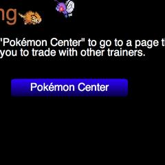 A link to the Pokémon Center