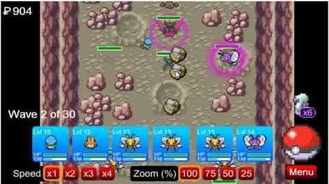 Power Tower Defense-Mt Moon 1 and 2