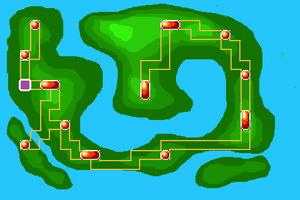 Map Orbic Cave