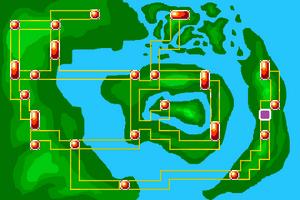 Map Circle of Power