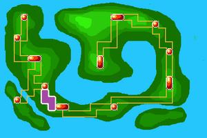 Map Quake Desert