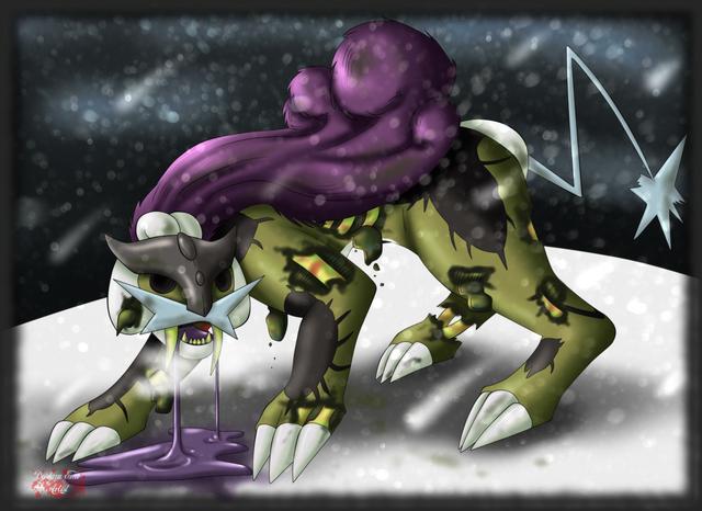 File:Raikou pokemon plague by deidaraemoartist-d4okp04.png