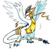 Fanart pokemon legendaries by butifuldeath-d4w2ov2