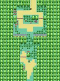 Route 1 with events