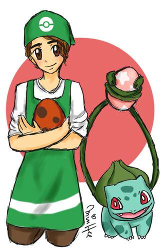 Pokemon breeder nachin by lemonpie art-d3l8rix