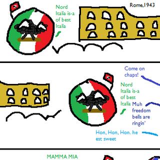 The Nazi Retreat from Italia Part 1