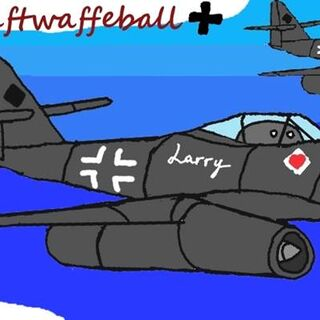 Luftwaffeball cover,featuring the Me-262, is of best Aryan Jet!!