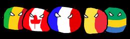 Polandball Francophones