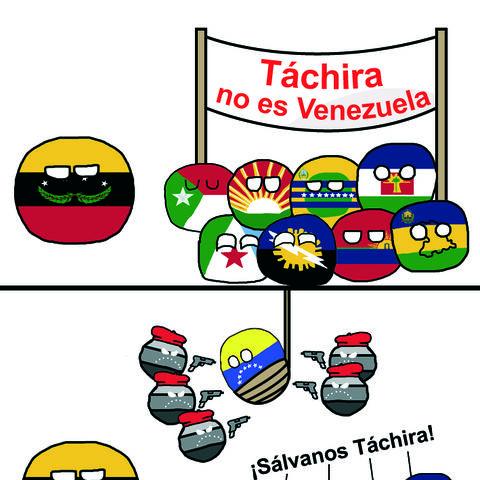 Táchiraball no es Venezuelball