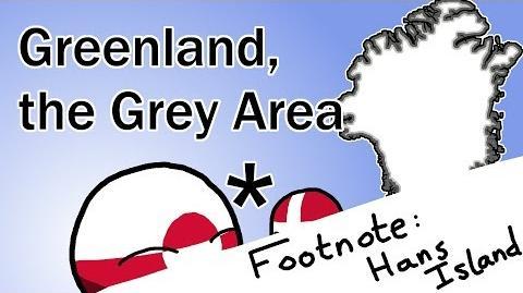 Footnote Hans Island Greenland, the Grey Area