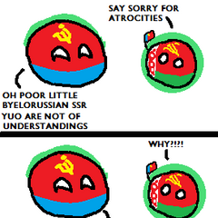 Byelorussian SSRball still can't get over the atrocities of the Chernobyl disaster