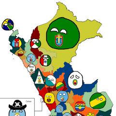 Peru's regionballs